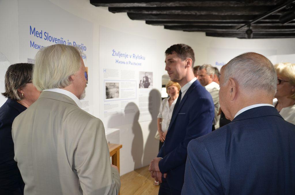 Odprtje Rusko-slovenskega centra Davorina Hostnika