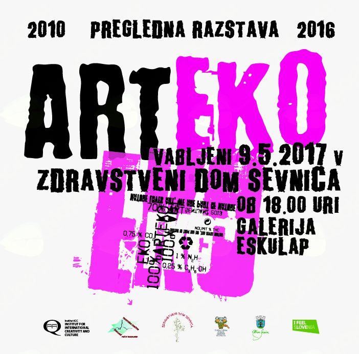 Otvoritev razstave ARTEKO v ZD Sevnica
