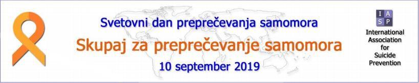 Svetovni dan preprečevanja samomora - 10. september