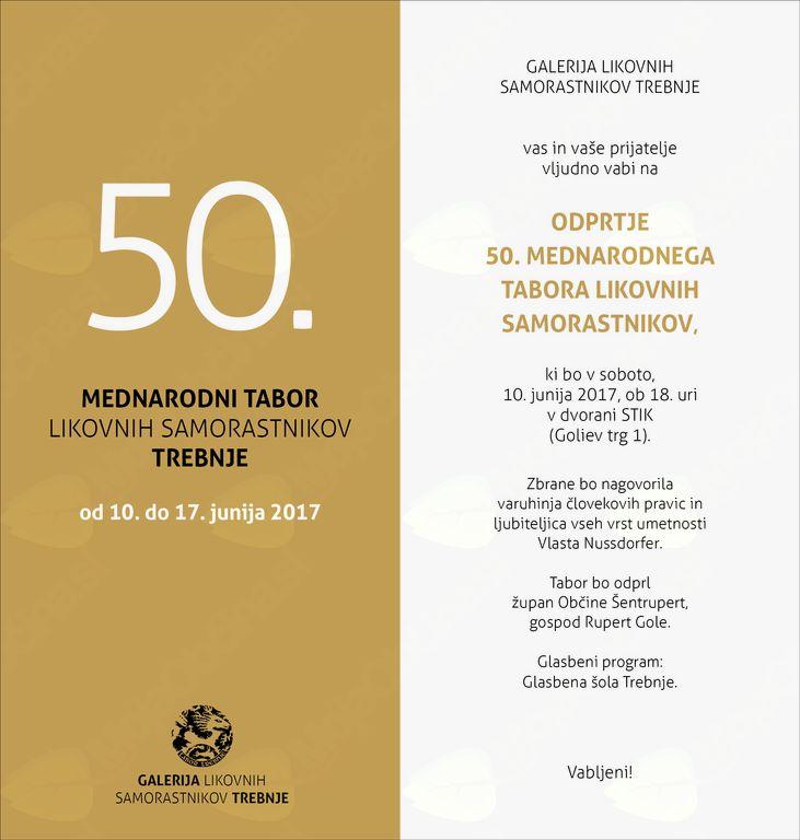 50. Mednarodni tabor likovnih samorastnikov
