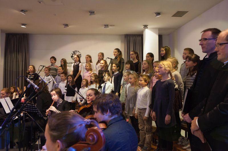 Otroški pevski zbor Glasbene šole Trebnje, foto: Alenka S Lamovšek