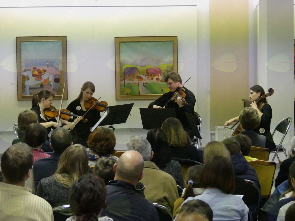 Koncert kvarteta Al fine, foto: Arhiv GLST
