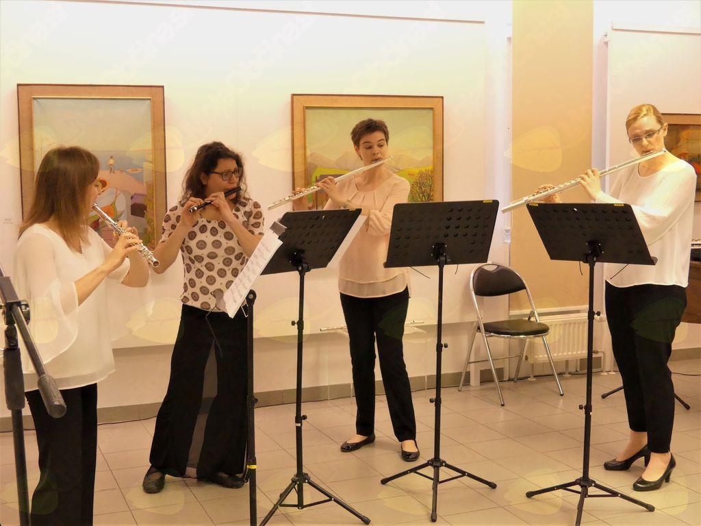 Koncert kvarteta flavt Traverso, foto: Arhiv GLST.