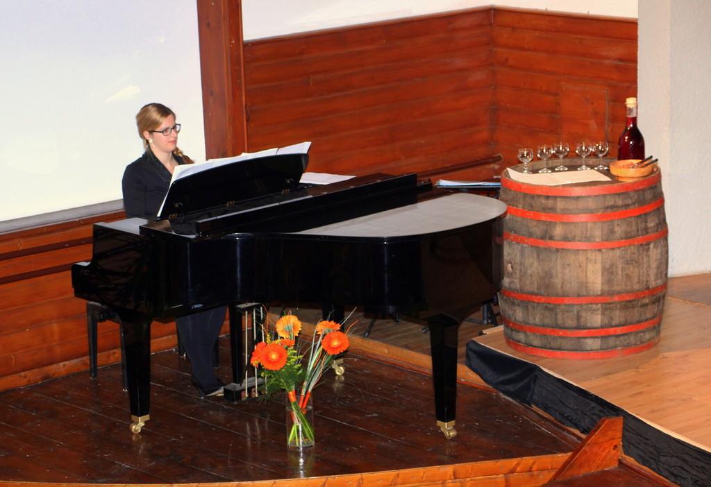 Pianistka Tina Logar