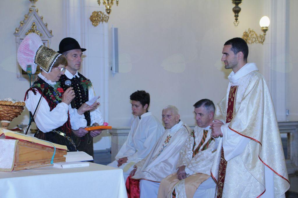 Ponovitev nove maše g. Matilda Domića