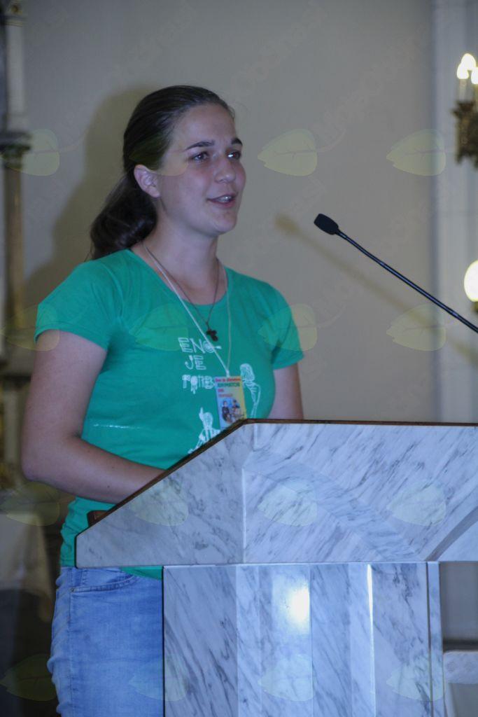 Ema Hostnik, vodja letošnjih animatorjev na Oratoriju
