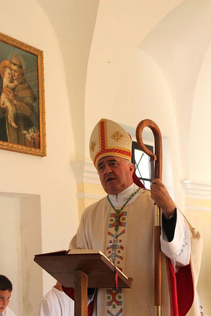 Ljubljanski pomožni škof g. Franc Šuštar