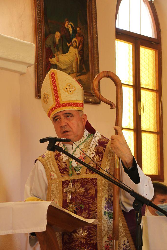 Ljubljanski pomožni škof msgr. g. Franc Šuštar