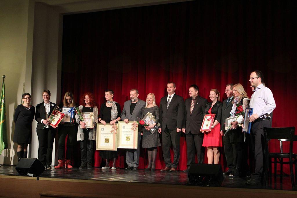 V Šentilju podelili priznanja za delo na kulturnem področju