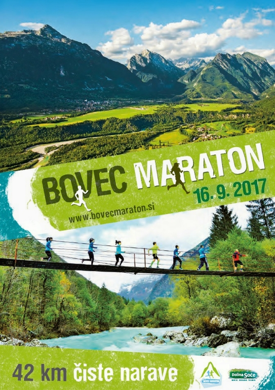 Odprtje prijav na Bovec maraton 2017