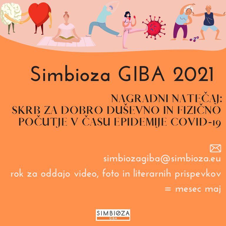 SIMBIOZA GIBA 2021 NAGRADNI NATEČAJ
