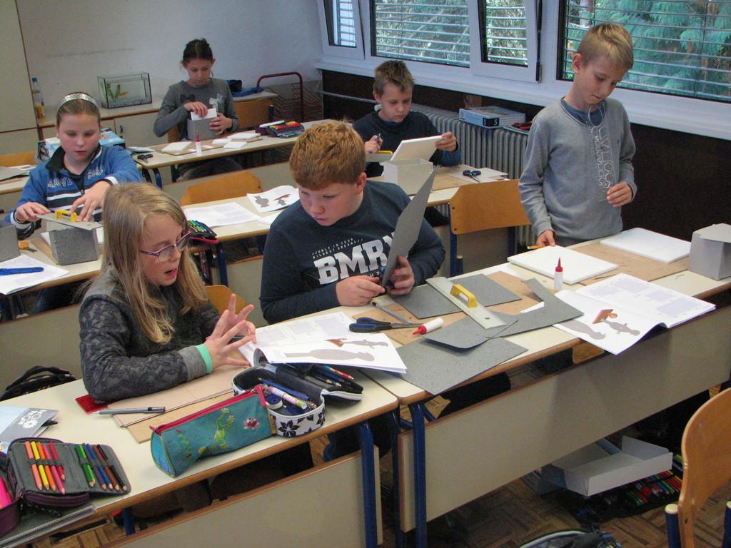 Tehniški dan v 5.a razredu