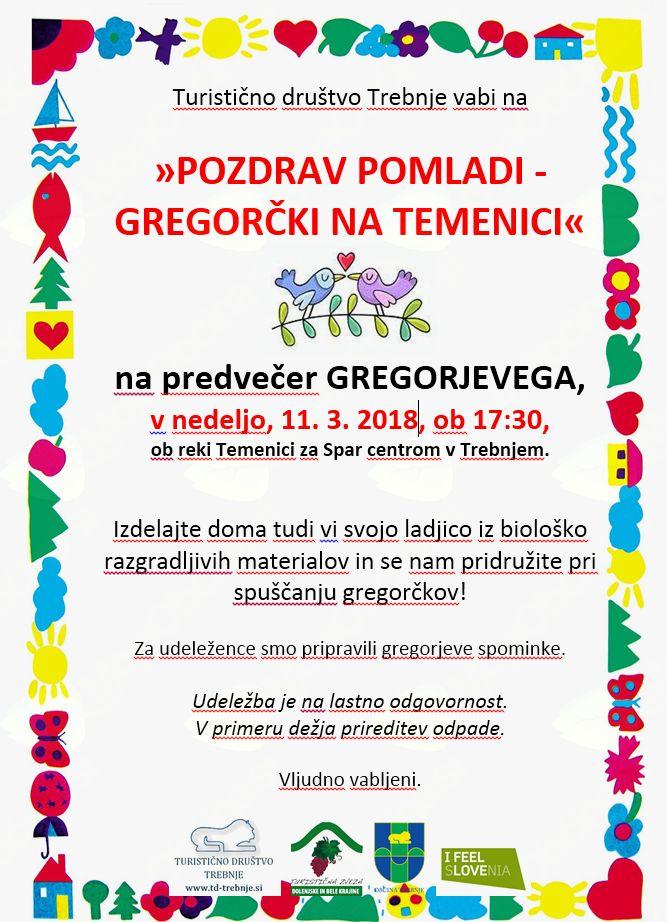 Pozdrav pomladi - gregorčki na Temenici