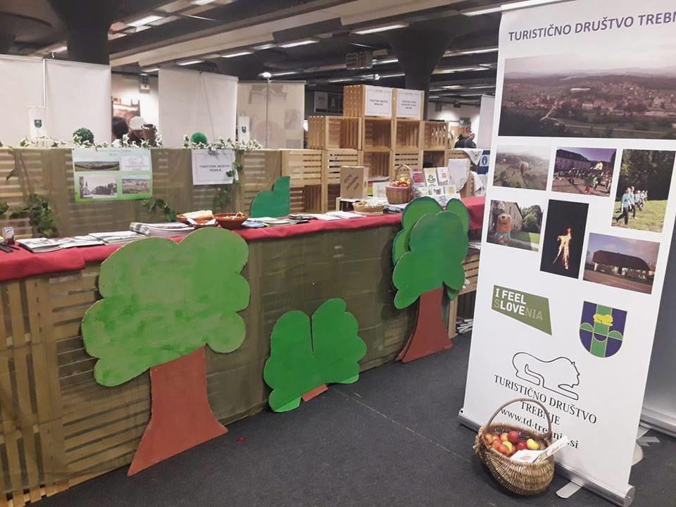 Turistično društvo Trebnje na sejmu turizma, Alpe - Adria