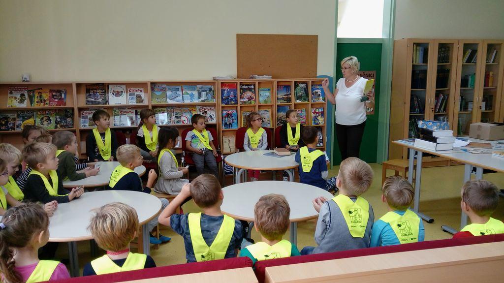 Prvič v šolski knjižnici