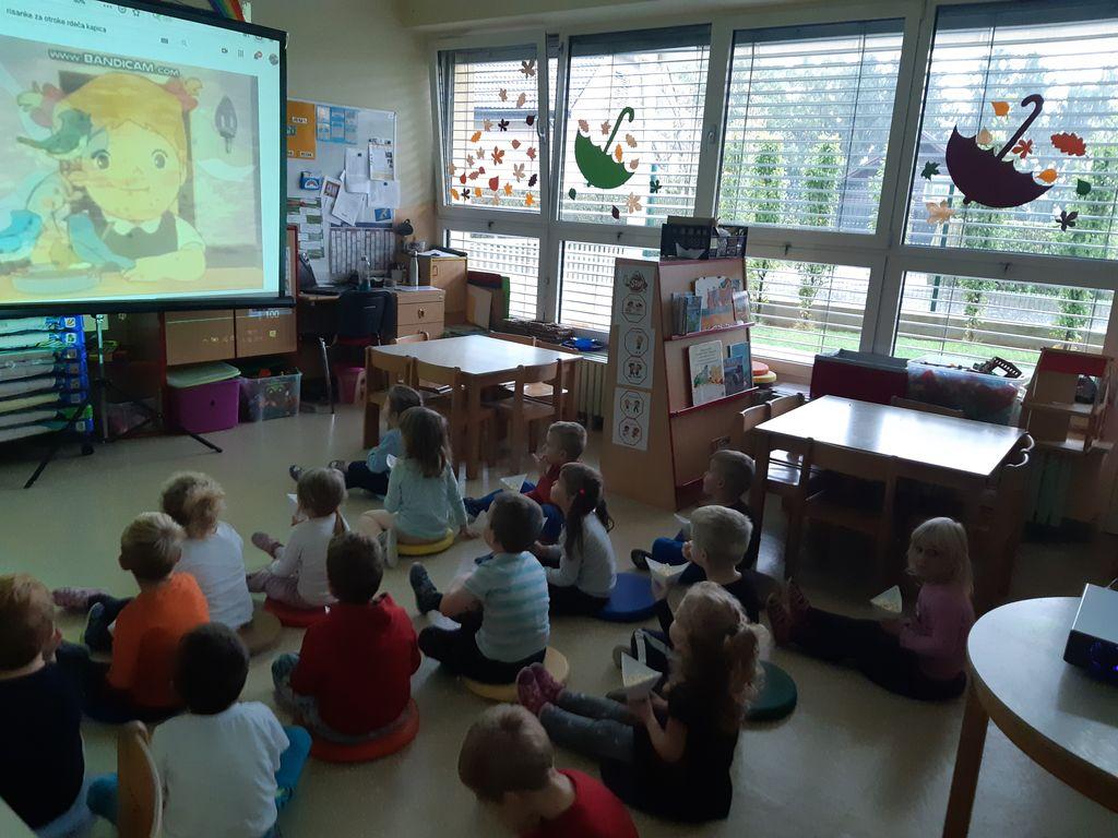 Popestritev dejavnosti ob tednu otroka v vrtcu v Cirkovcah