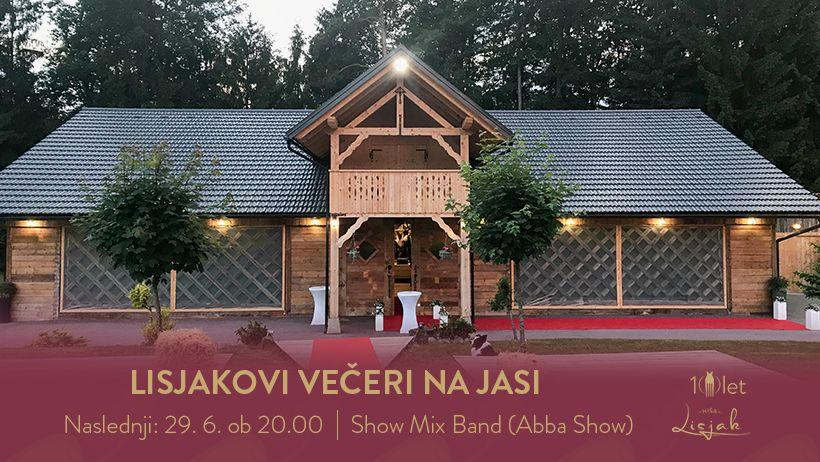 Lisjakovi večeri Na jasi: Show Mix Band