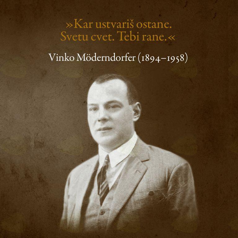 Predstavitev znanstvene monografije o Vinku Möderndorferju