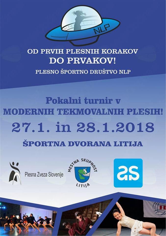 Pokalni turnir v modernih tekmovalnih plesih - PŠD NLP Litija