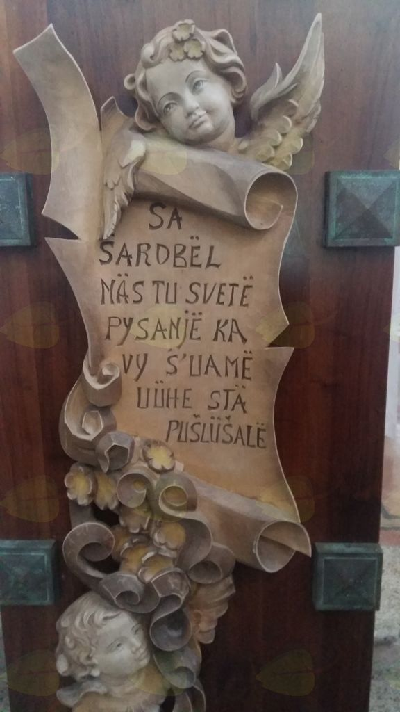Motiv iz cerkve v Sobici