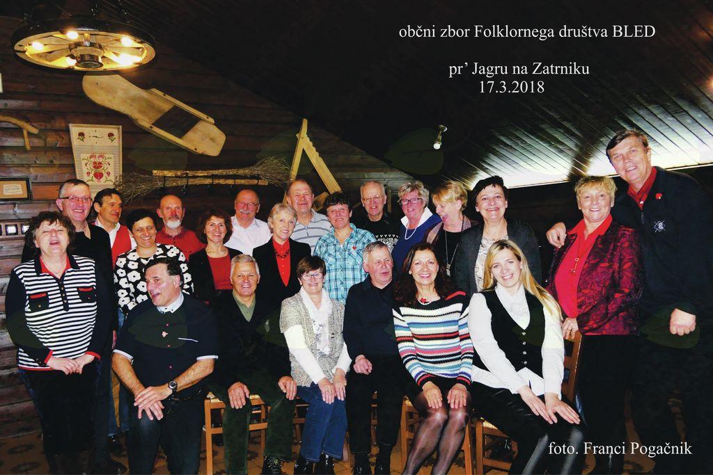 Občni zbor Folklornega društva Bled