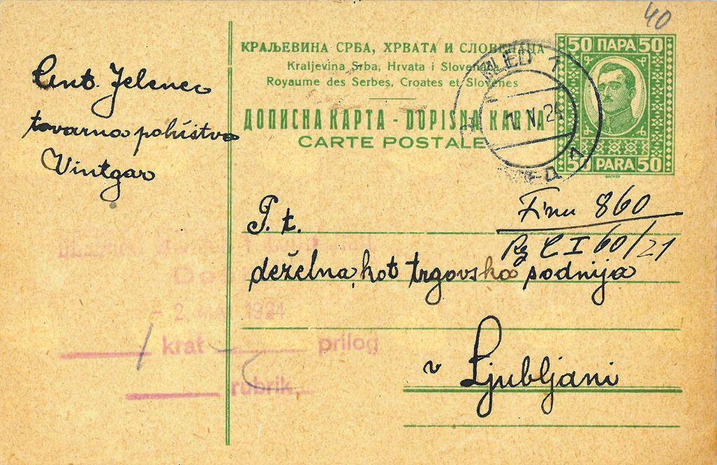 Žigi Pošte Bled skozi čas
