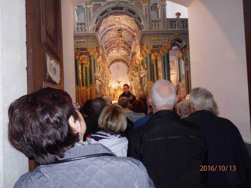 Božji grob v Cerkvi v Gornjem Gradu.