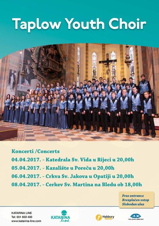 Koncert zbora Taplow