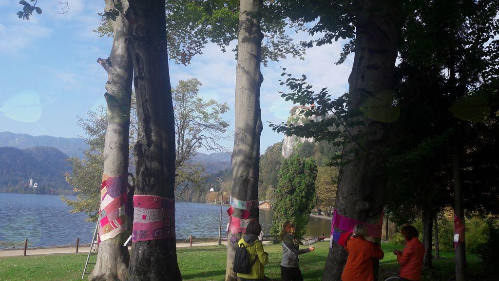 Rožnati oktober na Bledu