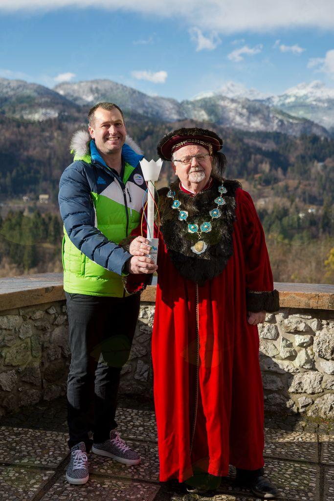 Slovenska bakla na Bledu