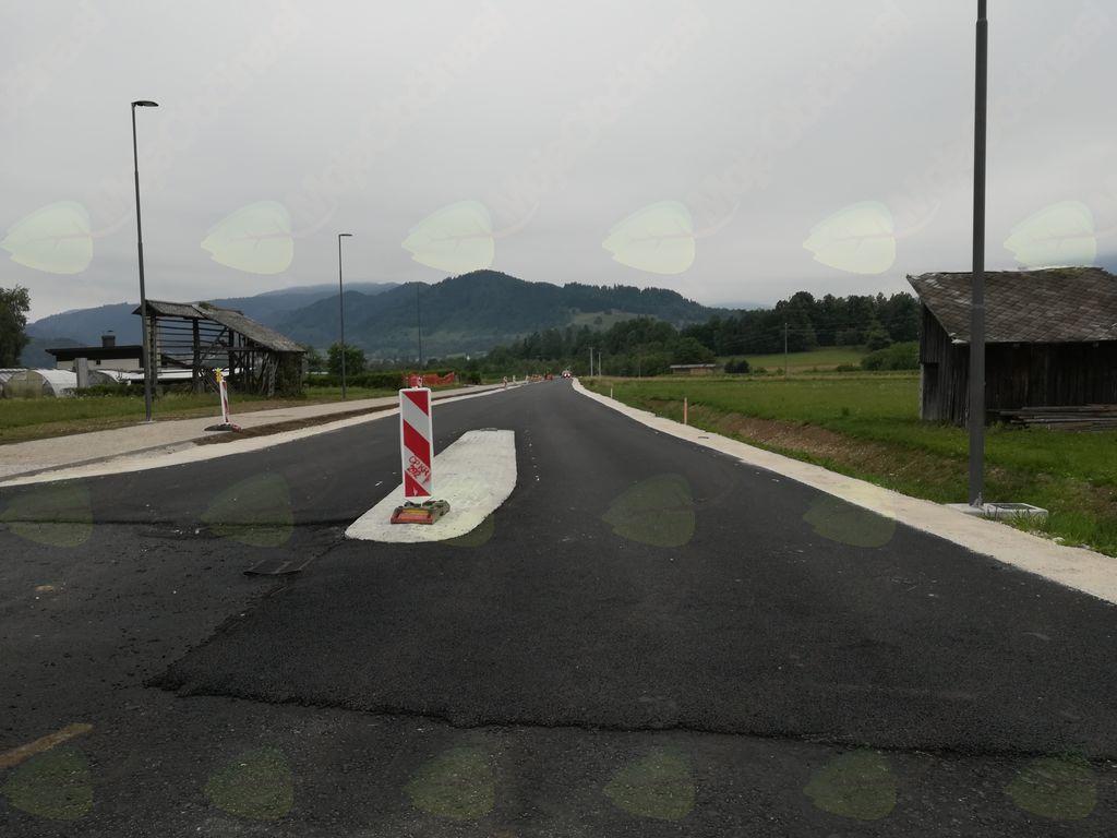 Severna razbremenilna cesta bo prevozna v prvih dneh prihodnjega tedna