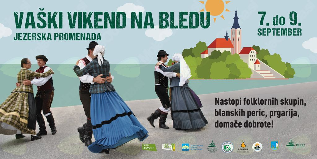 Vaški vikend na Bledu
