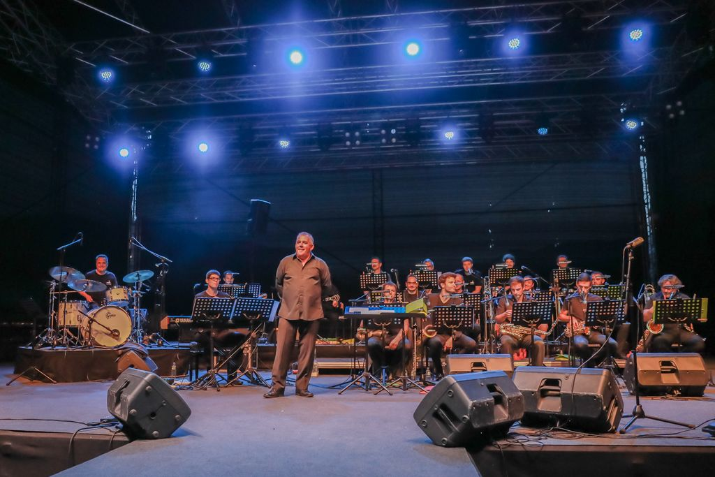 Big band Bled,  foto Miro Zalokar