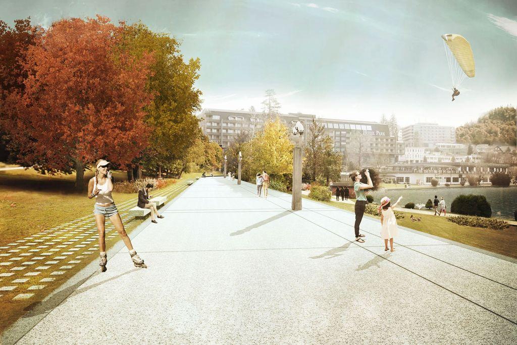 V letu 2023 naj bi se začela tudi sanacija Jezerske promenade.