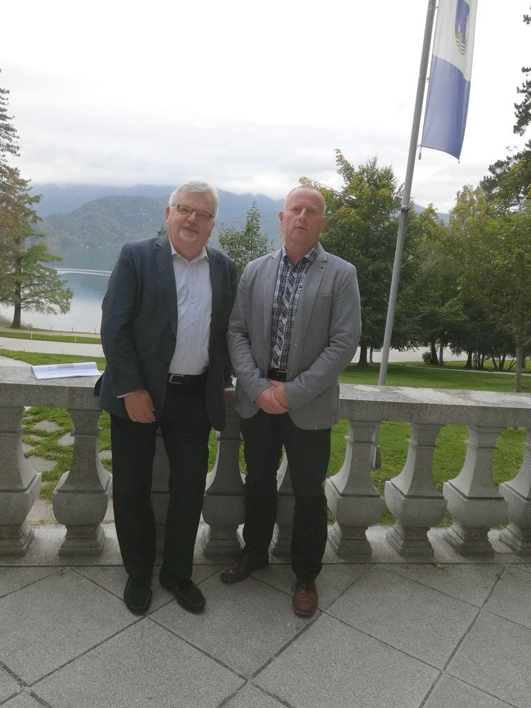 Janez Fajfar in Robert Klinar