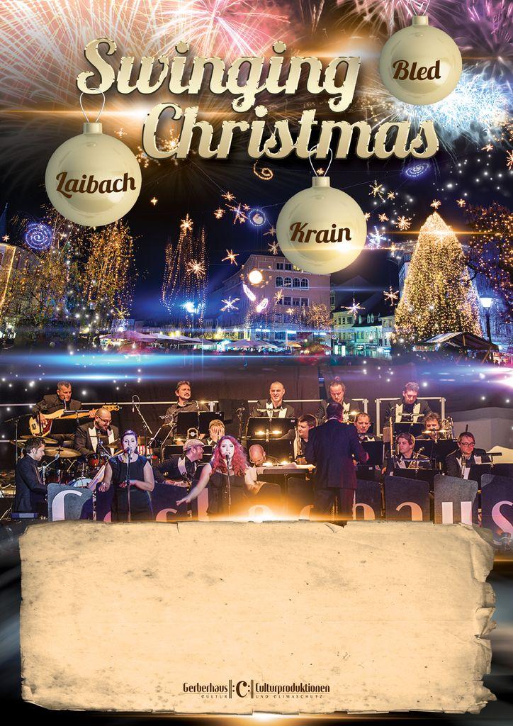 Swinging Christmas na Bledu