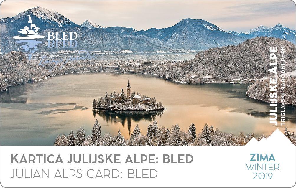 Smučarski avtobus in zimska kartica Julijske Alpe:Bled