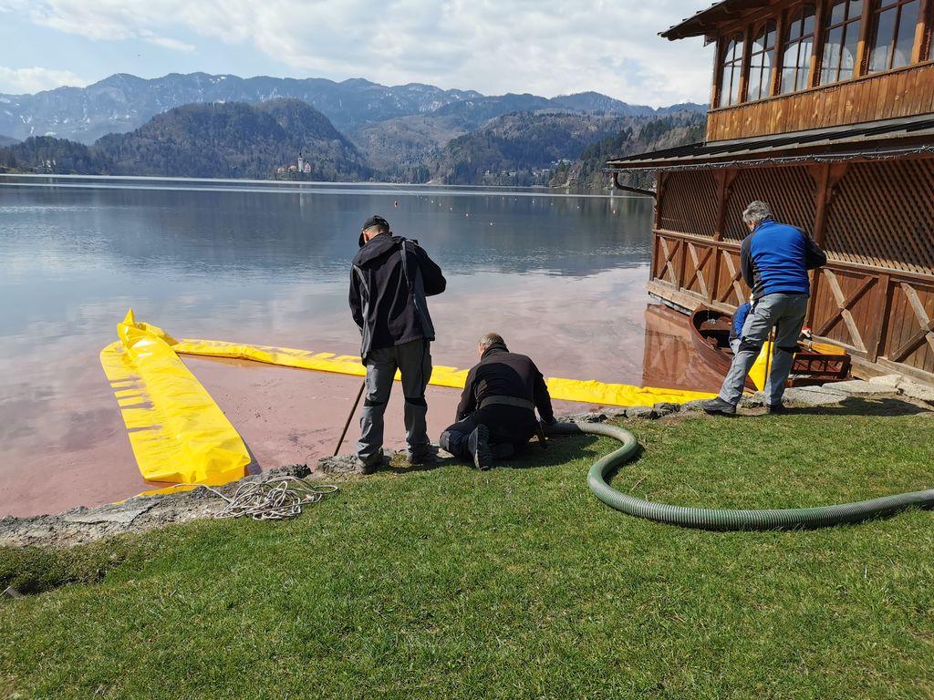 Ponovno čiščenje Blejskega jezera