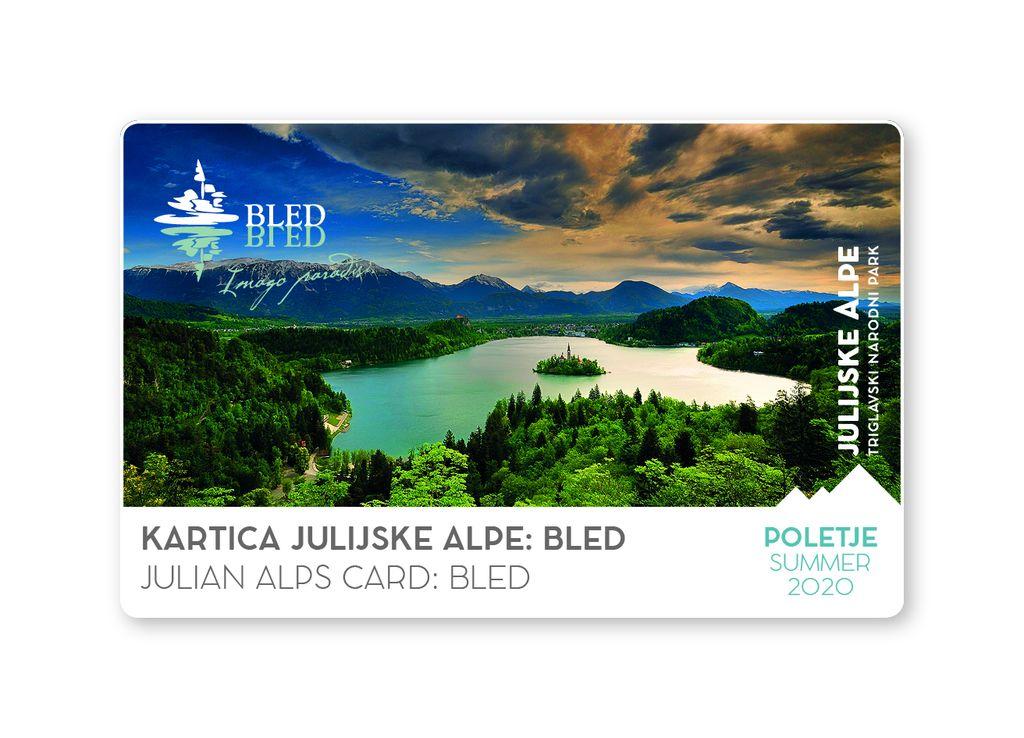 Podaljšanje poletne kartice Julijske Alpe: Bled