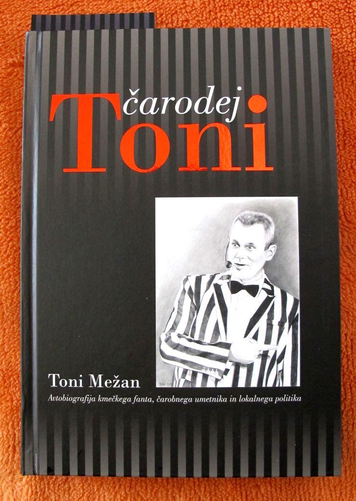 Predstavitev knjige Čarodej Toni