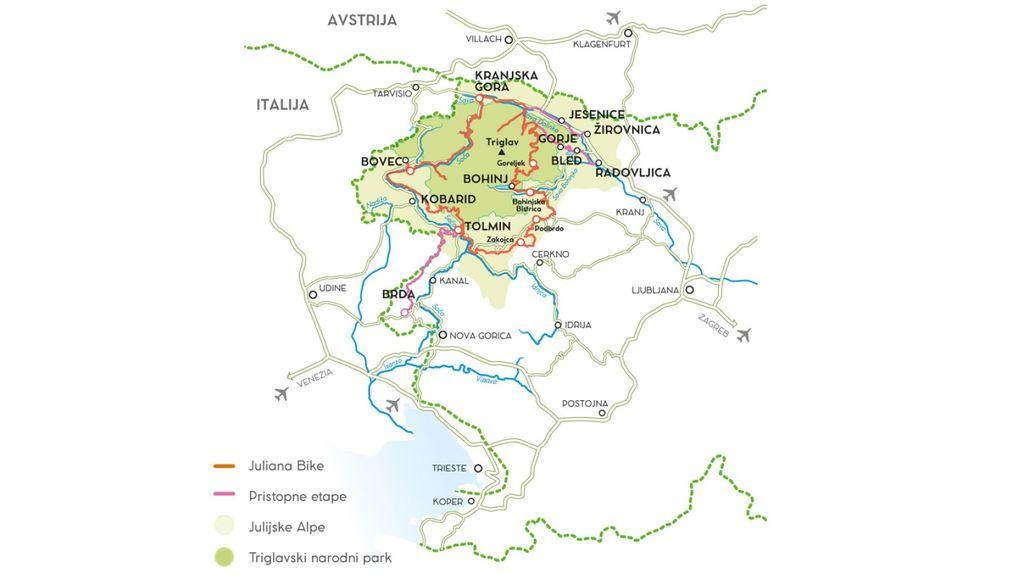 Juliana bike - s kolesom po Julijskih Alpah