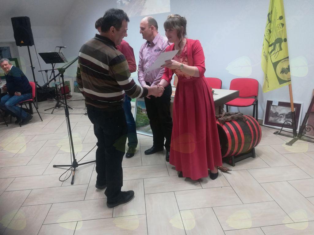 """Občni zbor v Društvu vinogradnikov """"Lisec"""" Dobrnič"""