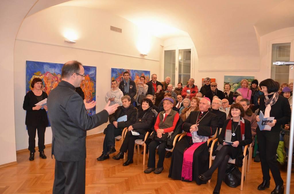Umetniki za karitas v Ljubljani