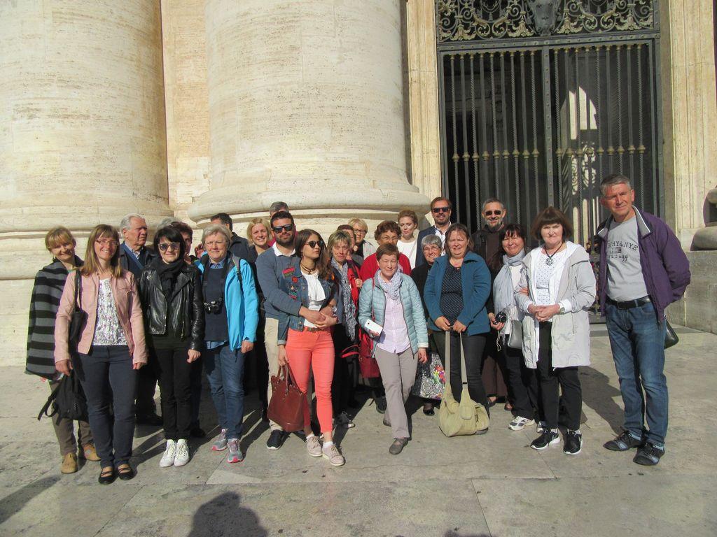 Umetniki za karitas v Rimu