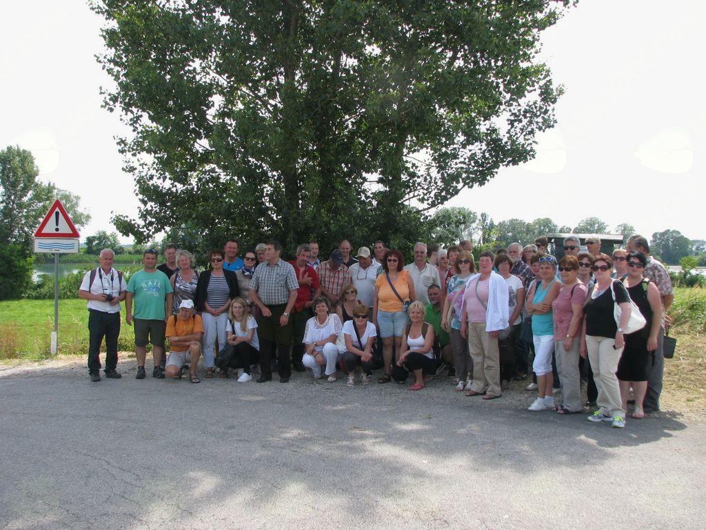Krvodajalci in prostovoljci na izletu