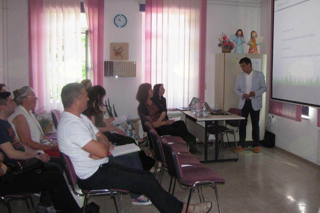 Program dodatnega usposabljanja v Cirius Vipava