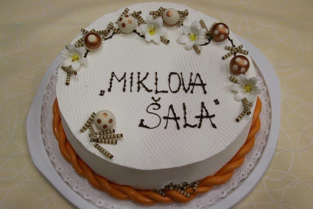 Torta, ki so jo spekli v GP Trojane
