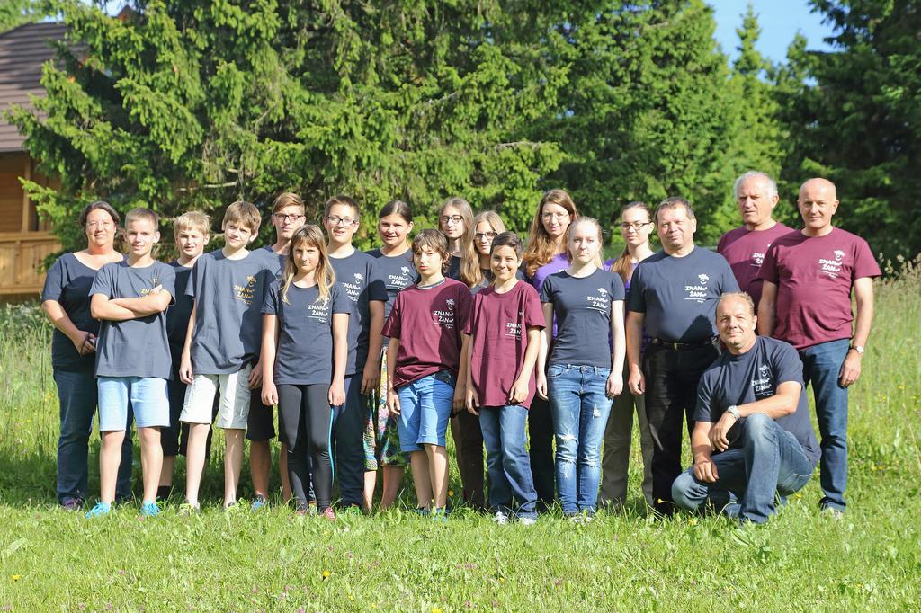 Mladinski interdisciplinarni raziskovalni tabor na Rogli