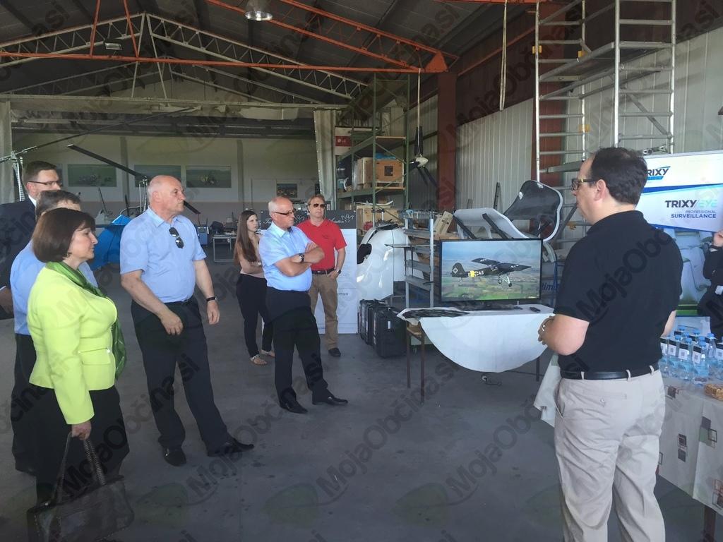 Ogled proizvodnje podjetja Trixy Aviation