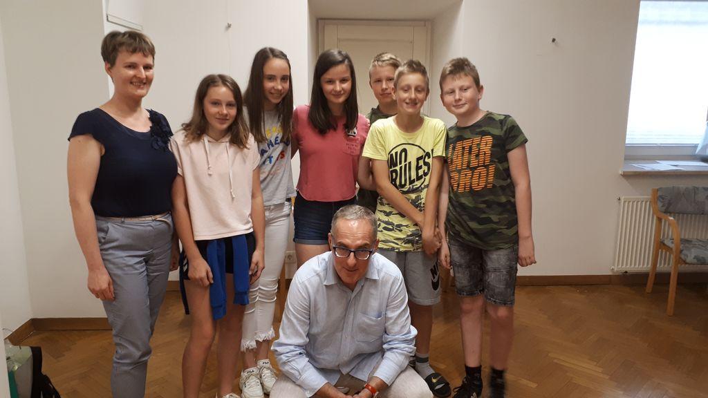 Z ambasadorjem akcije Igorjem E. Bergantom